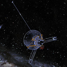 Pioneer 11 spacecraft